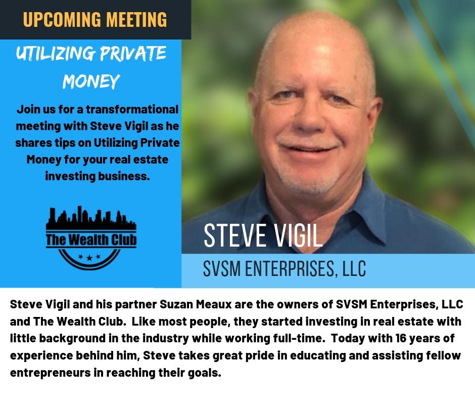 April 2019 - Steve Vigil