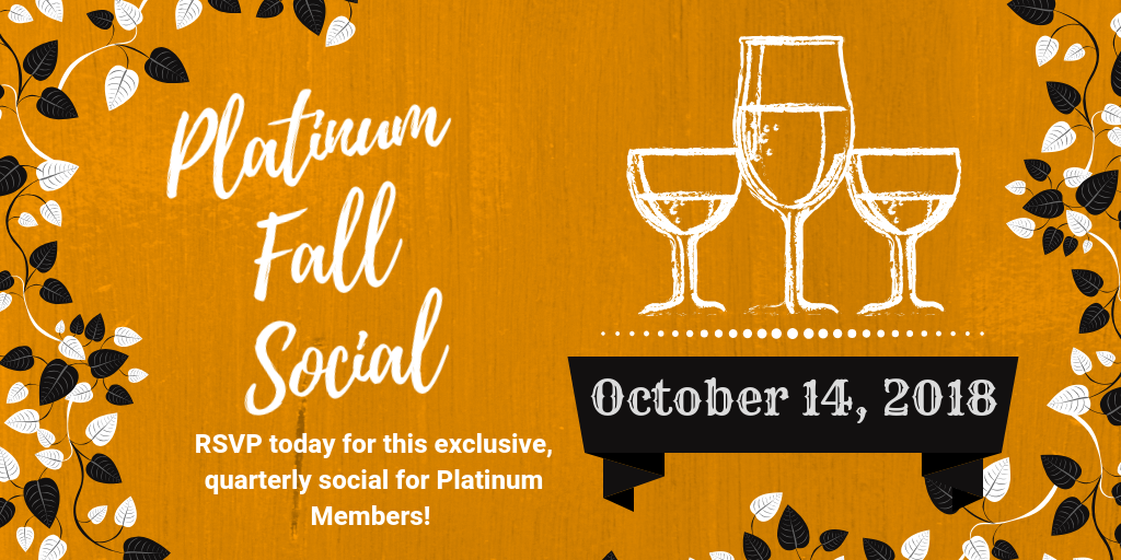 Platinum Social_ Fall Social 2018